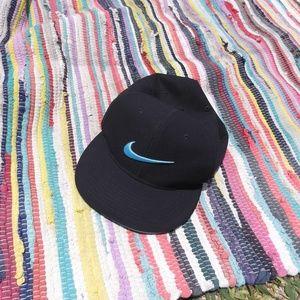 Nike Golf Sure Fit Snapback Hat Blue Swoosh